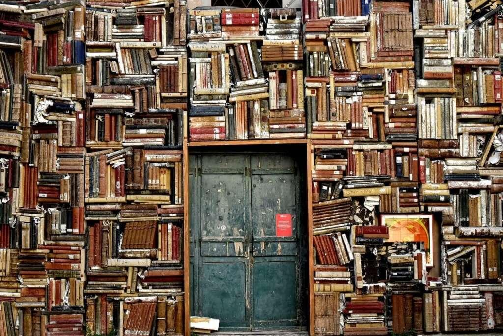 ton of books